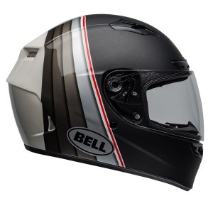 KASK BELL QUALIFIER DLX MIPS ILLUSION BLACK/SILVER