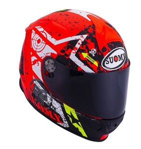 KASK SUOMY SR SPORT STARS ORANGE S M