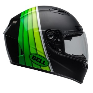 KASK BELL QUALIFIER DLX MIPS ILLUSION BLACK/GREEN