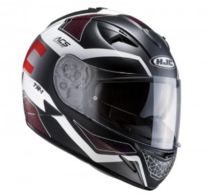 KASK HJC TR-1 THOLOS BLACK/RED S M