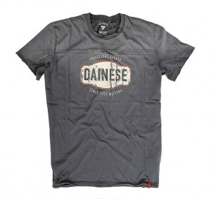 T-SHIRT DAINESE GARAGE ANTRACITE S