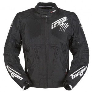 FURYGAN KURTKA TEKSTYLNA HURRICANE BLACK-WHITE L XL
