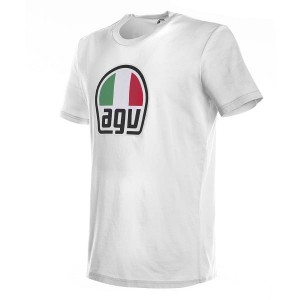 T-SHIRT AGV WHITE S