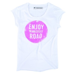 T-SHIRT DAINESE N'JOY LADY WHITE L