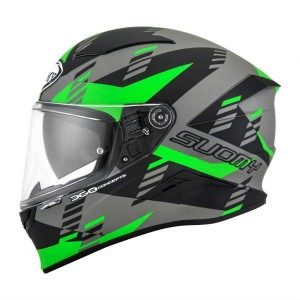 KASK SUOMY SPEEDSTAR FLOW GREEN BLACK