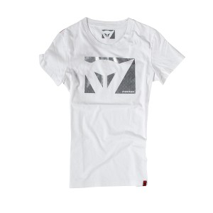 T-SHIRT DAINESE COLOR NEW LADY BIANCO/CABONIO M