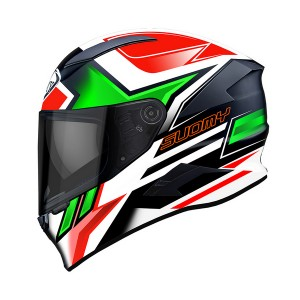 KASK SUOMY SPEEDSTAR ASYMETRIC GREEN